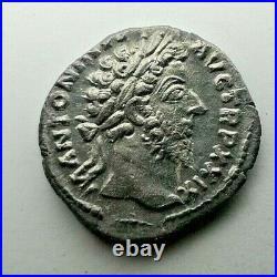 MARCUS AURELIUS 161-180 Denarius Rome Ancient Authentic Roman coin