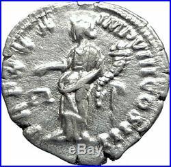 MARCUS AURELIUS Authentic Ancient 175AD Rome Silver Roman Coin AEQUITAS i74783