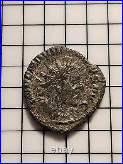 MARCUS AURELIUS MARIUS Very Rare GALLIC Roman Empire Coin