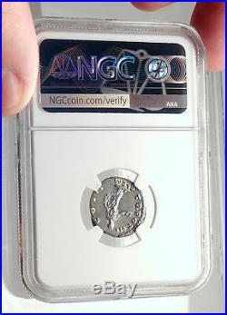 MARCUS AURELIUS as Caesar Rome Ancient Silver Roman Denarius Coin NGC i71725