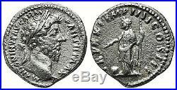 Marcus Aurelius 160-181 BC. Superior Silver Denarius. Ancient Roman Empire Coin