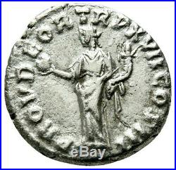 Marcus Aurelius 161-180 AD. Sharp Denarius. Ancient Roman Empire Silver Coin
