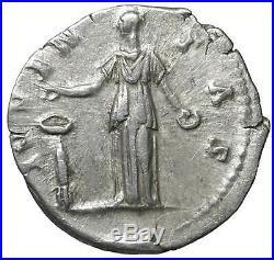 Marcus Aurelius Ar Denarius old ancient roman silver coin Rome Empire Imperial