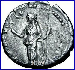 Marcus Aurelius as Caesar Stunning Denarius Father of Commodus Roman Silver Coin
