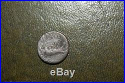 Mark Antony Silver Denarius 43-30BC Ancient Roman Coin