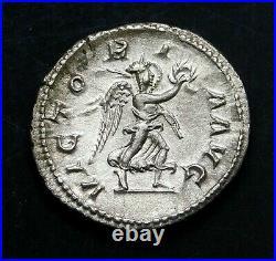 Maximinus I. Outstanding Denarius circa 235 AD. Ancient Roman Silver Coin