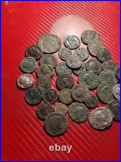 Medium quality lott of 35 mixed Roman coins