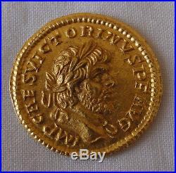 Monnaie Romaine Or Aureus VICTORINUS. Ancient Roman Gold Coin Aureus VICTORINUS