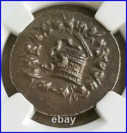 Mysia Pergamum Roman Rule Cistophorus NGC MS 5/5 Ancient Silver Coin