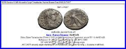 NERO Ancient 64AD Alexandria Egypt Tetradrachm Ancient Roman Coin EAGLE i74897