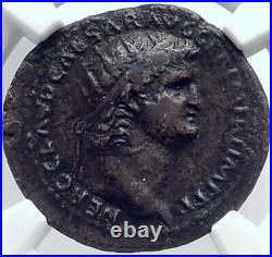 NERO Authentic Ancient 64AD Rome Genuine Original Roman Coin GENIUS NGC i81819