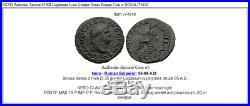 NERO Authentic Ancient 65AD Lugdunum Lyon Genuine Semis Roman Coin w ROMA i74616