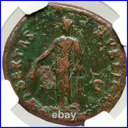 NERVA Authentic Ancient Rome Original Authentic Roman Coin LIBERTAS NGC i83564