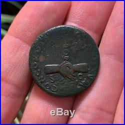 NERVA SCARCE Ancient Roman Coin Dupondius 97AD CONCORDIA EXERCITVVM RIC81 12.2g