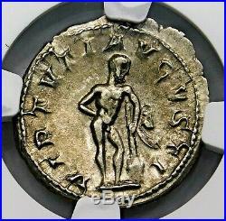 NGC AU. Gordian III. Stunning Double-Denarius. Ancient Roman Silver Coin