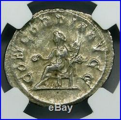 NGC AU. Otacilia Severa. Outstanding Double-Denarius. Ancient Roman Silver Coin