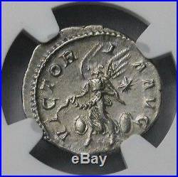 Ngc Ch Au 45 55 Elagabalus Superb Rare Denarius Ancient