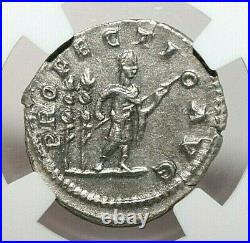 NGC Ch XF ROMAN COINS CARACALLA, AD 198-217. AR Denarius. MAX/025