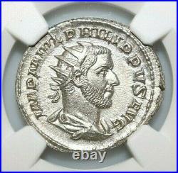NGC MS ROMAN COINS PHILIP I, AD 244-249. AR Double-Denarius. MAX/001