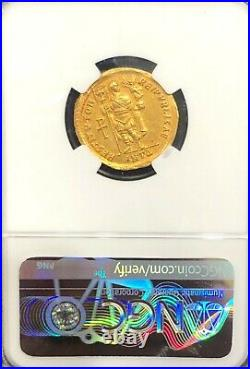 NGC Western Roman Empire, Valentinian I, AD 364-375, Ancient Gold Coin