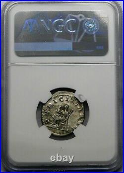 NGC XF. Herennia Etruscilla Superb Double-Denarius Ancient Roman Silver Coin