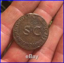 NICE! Ancient Roman Coin AE As GERMANICUS under CLAUDIUS 50-54AD SC RIC106 9.38g