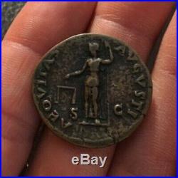 NICE! Ancient Roman Coin AE As VESPASIAN 71AD AEQUITAS AVGVSTI RIC482 9.21g