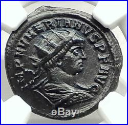 NUMERIAN Authentic Ancient 283AD Original Roman Coin PROVIDENTIA NGC i76323