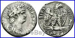 Nero (AD 54-68) Splendid Tetradrachm. Ancient Roman Silver Coin