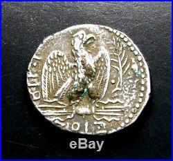 Nero (AD 54-68) Stunning Tetradrachm. Ancient Roman Silver Coin