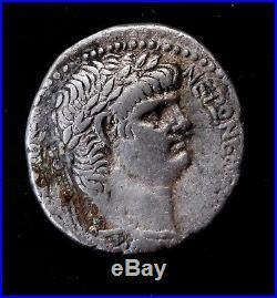 Nero. Stunning Tetradrachm ca. 62/3 AD. Ancient Roman Silver Coin