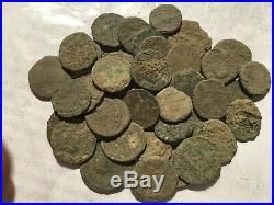 Nice anciente lot 40 Roman uncleaned coins