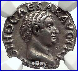 OTHO 69AD Rome Authentic Ancient Silver RARE Roman Coin NGC Certified XF