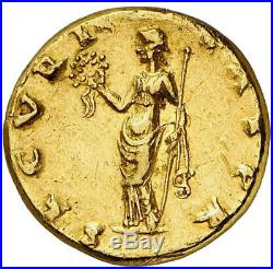 OTHO Authentic Ancient 69AD Rome GOLD AUREUS Coin w 1912 RATTO PEDIGREE