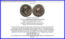 PERGAMUM in Mysia ROMAN SENATE & ROMA 10AD Ancient Greek Coin i38625
