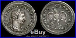 PHILIP I Tetradrachm RARE Rome Mint XF Large Ancient Roman Silver Coin Pr. 304