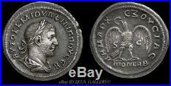 PHILIP I Tetradrachm RARE Rome Mint XF Large Roman Empire Ancient Silver Coin