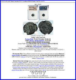 PONTIUS PILATE Tiberius Jerusalem JESUS Crucifixion ERROR Roman Coin NGC i83976