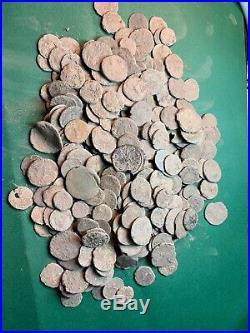 Premium Uncleaned Ancient Roman Coins 100 Coins Per Buy