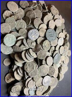 Premium Uncleaned Ancient Roman Coins 50 Coins Per Buy