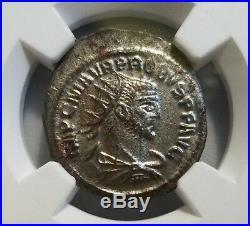 Probus Roman Empire AD 276-282 NGC AU Ancient BI Aurelianianus Coin Caesar