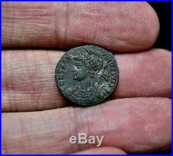 R1 RARE CONSTANTINOPOLIS, Victory, Alexandria mint, 333 A. D, Ancient Roman Coin