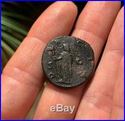 RARE Ancient Roman Coin AE AS TRAJAN DECIUS 249AD DACIA RIC101c 9.7g