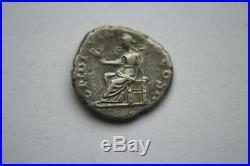 Rare Ancient Roman Pertinax Denarius Coin 193 Ad Ad Caesar