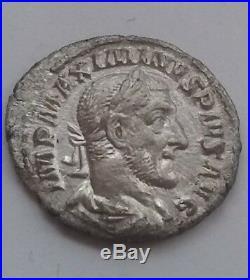 Rare Genuine ancient Roman coin Maximinus I, Thrax, 235-238 AD