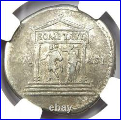 Roman Claudius AR Cistophorus Coin 41-54 AD Certified NGC Choice Fine
