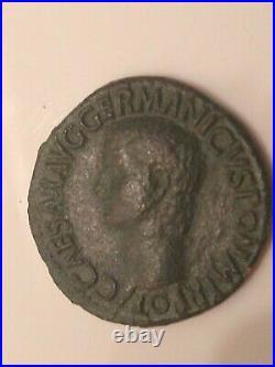 Roman Coin -Germanicus Father Of Caligula