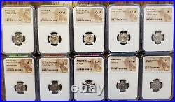 Roman Empire 50 coin set 96-350AD