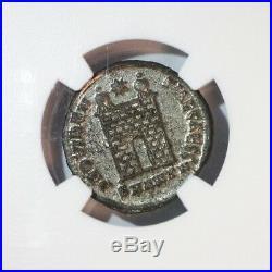 Roman Empire Constantius II NGC MS AD 337-361 Caesar Ancient Coin AE3 BI Nummus