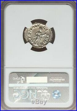 Roman Empire Gordian III 244-238 AD AR Denarius NGC MS 5/5 4/5 Ancient Coin